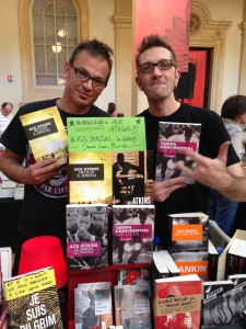 The coolest booksellers in all of France!