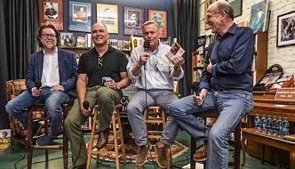 Download John Grisham's tour podcast to hear Ace